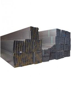 Tubería mueble rectangular