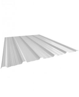 Cubierta trapezoidal blanco